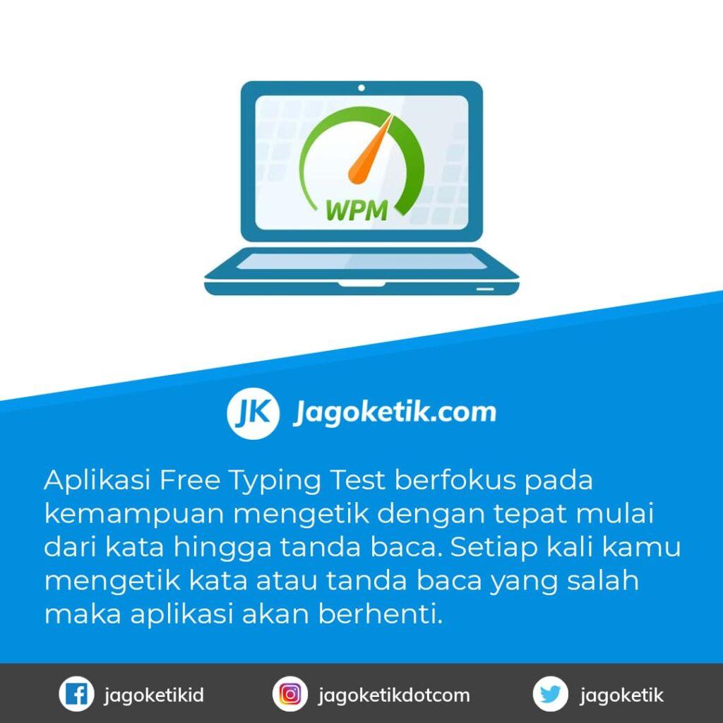 Download Free Typing Test aplikasi untuk Belajar Mengetik 10 Jari