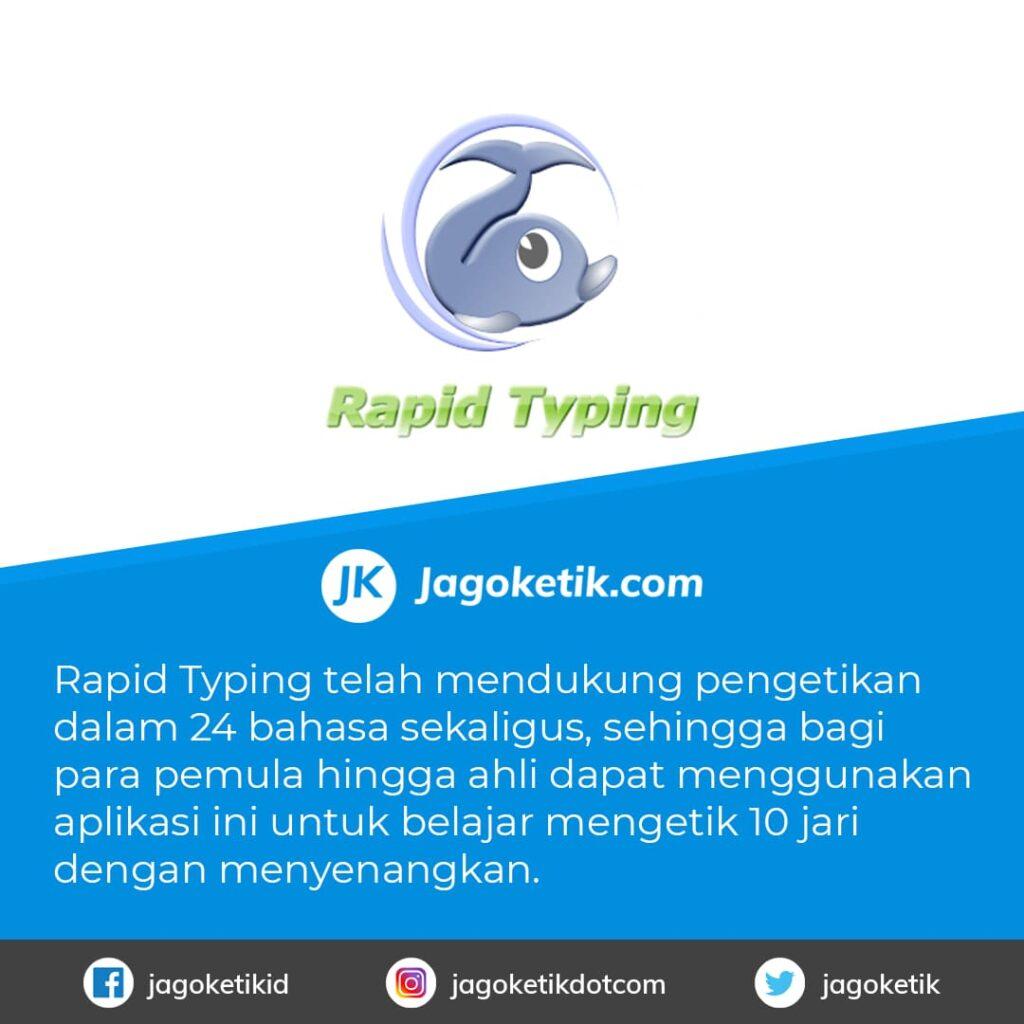 Download Rapid Typing aplikasi untuk Belajar Mengetik 10 Jari