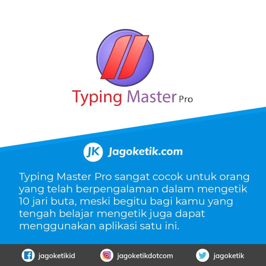 Download Typing Master Pro untukAplikasi Belajar Mengetik 10 Jari