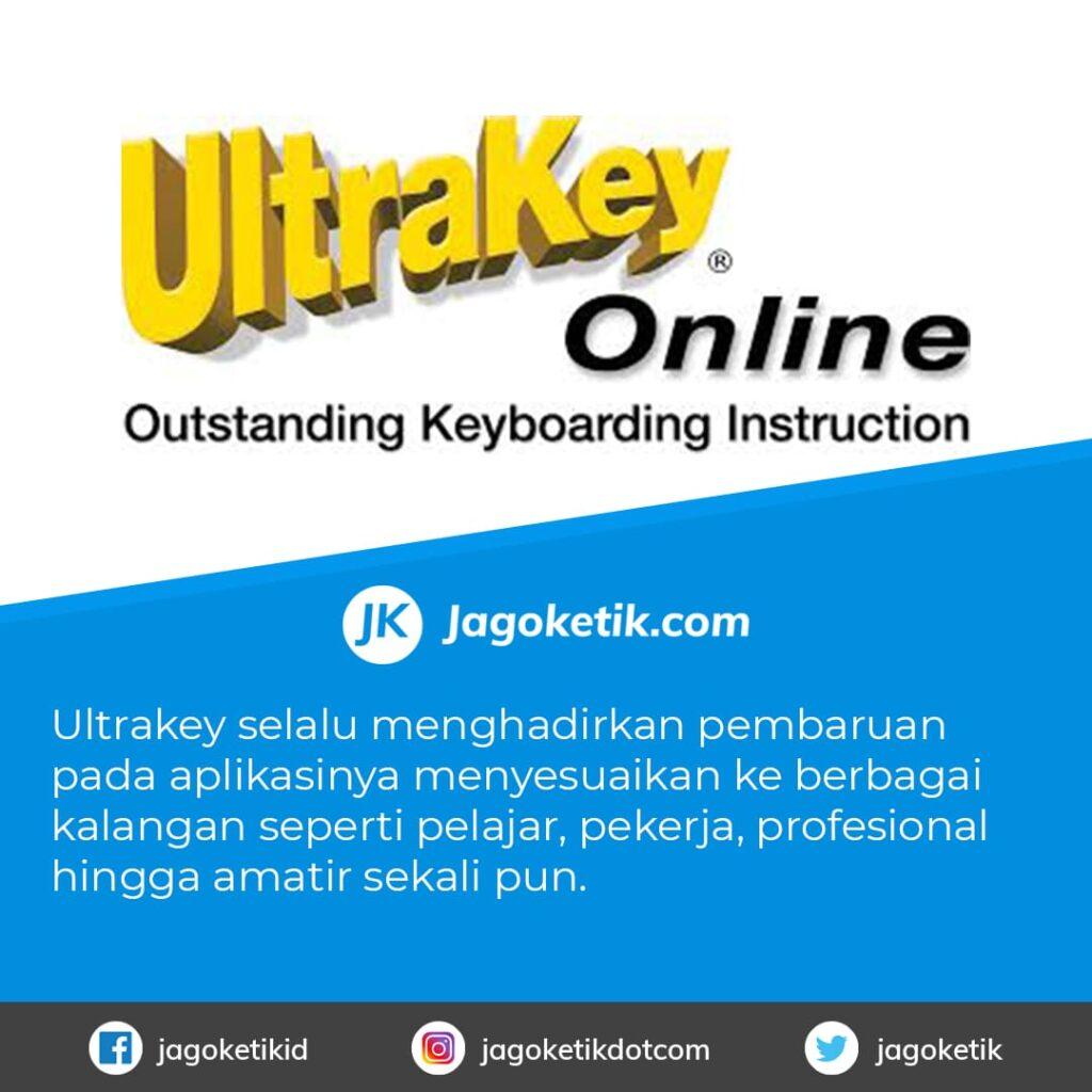 Download UltraKey untukAplikasi Belajar Mengetik 10 Jari