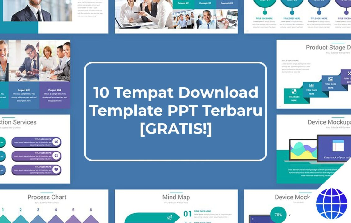 10 Tempat Download Template Ppt Terbaru Gratis