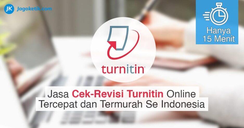 Jasa cek dan revisi Turnitin online