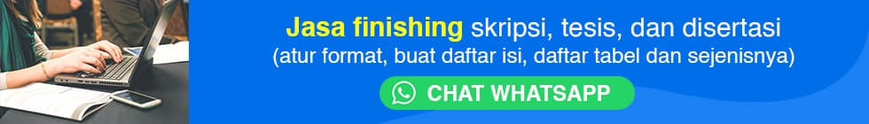 Jasa finishing skripsi online