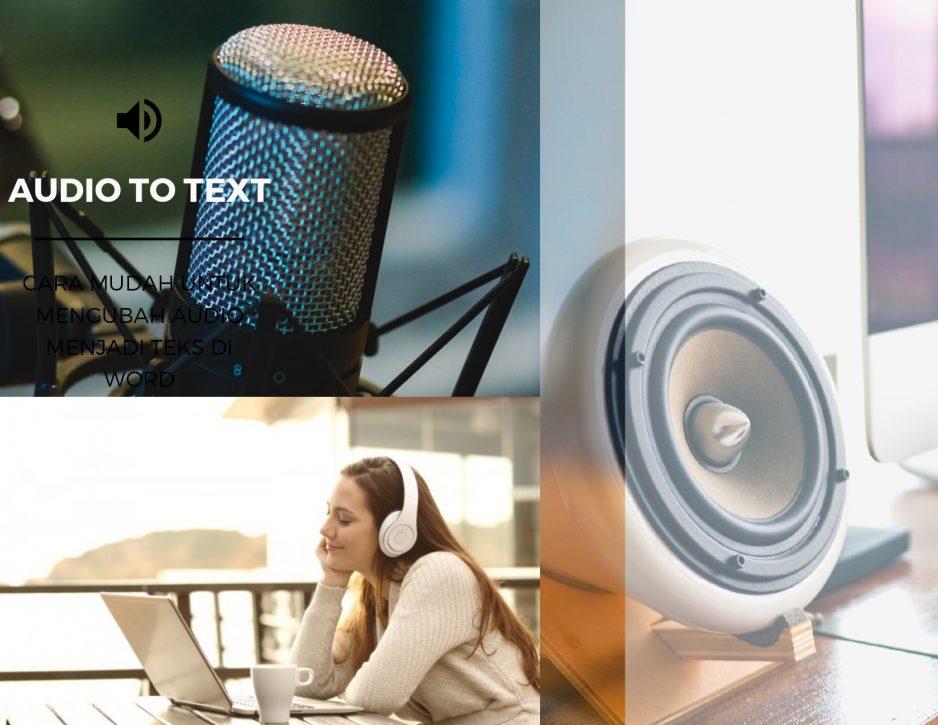 Rekomendasi Aplikasi Pengubah Suara Jadi Teks Mudah dan Cepat