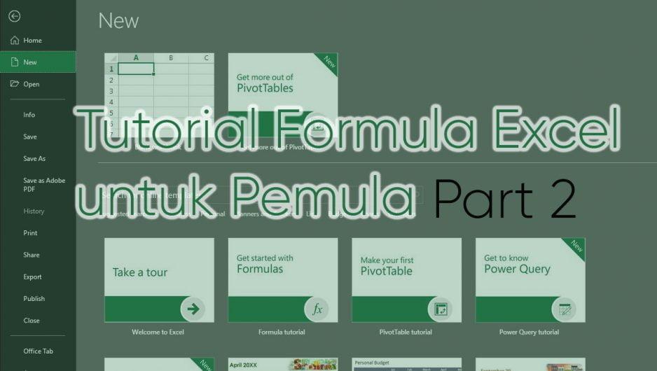 Tutorial Formula Excel untuk Pemula – Part 2
